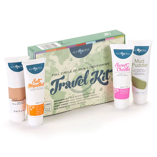 Full Circle Travel kit, 4 x 30 ml